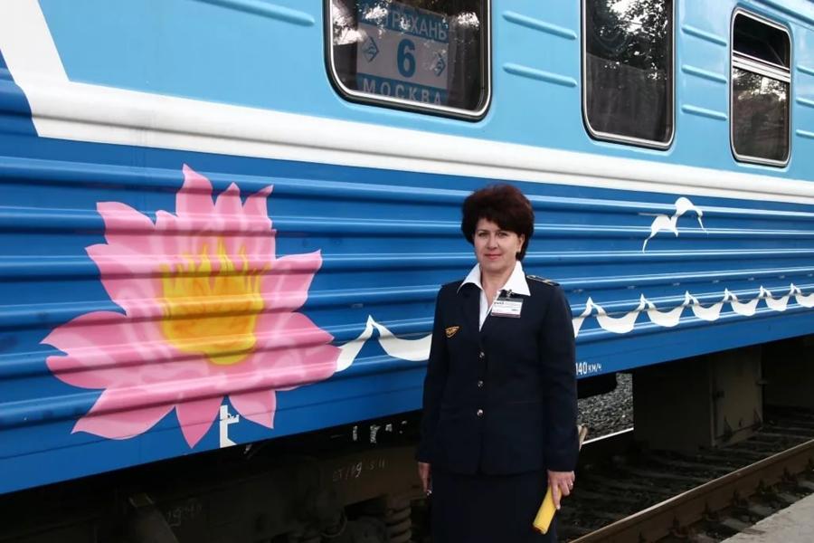 Поезд 005Г Лотос Москва Астрахань 2